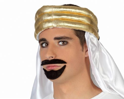 Hair Moustache & Beard Arabic Sultan Arab Middle East